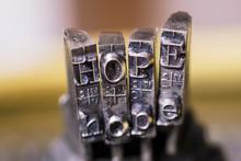 Macrophotography Of Typewriter...