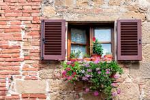 Monticchiello, Italy Town Or V...