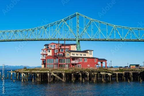 Photo House under the bridge