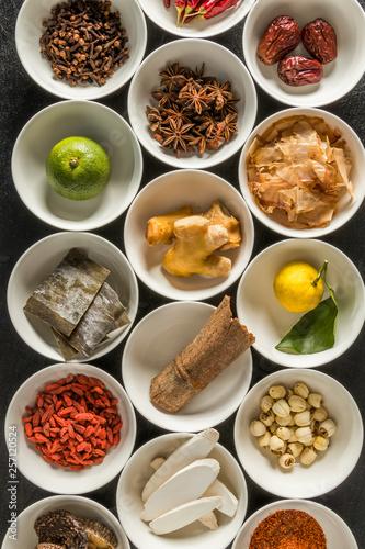 Photo  日本のだしと旨味のもと  Japanese soup stock Japanese food