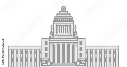 国会議事堂 Canvas