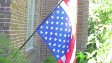 Upside Down American Flag Dist...