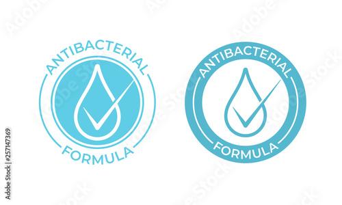 Photo Antibacterial vector icon