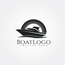 Boat Logo Template, Ship Icon ...