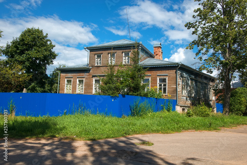 Borovichi, Russia - August 8, 2018: House abbess and Taisii - spiritual writer, friend of John of Kronstadt, prioress of Leushinsky St Canvas Print