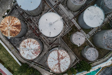 Aerial View Of The Pipelines A...
