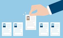 履歴書、求人のイメージ