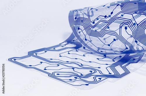Fotografie, Obraz  Electronic flex circuit board
