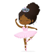 Cute African Princess Baby Gir...