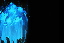 Blue Abstract Background On A ...