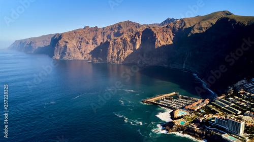 Fotografía aerial view on Los Gigantes Tenerife