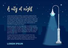 A City At Night.