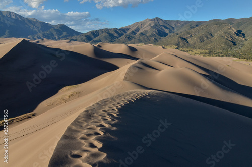 Αφίσα  scenic view of Sangre de Cristo Range from the top of High Dune in Great Sand Du