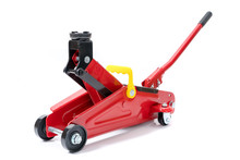 Red Hydraulic Floor Jack Isola...