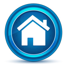 Home Icon Eyeball Blue Round B...