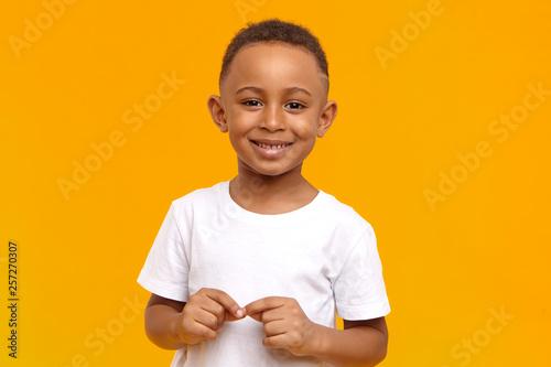 Vászonkép People, childhood, school age and lifestyle concept