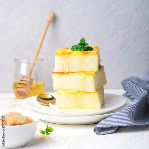 Photo Custard Pudding, Delicious Homemade Dessert