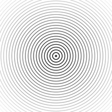 Hypnosis Spiral Background. Ve...