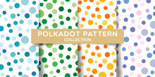 Polka Dots Seamless Pattern Co...