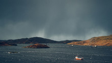 Squall Over The Sea