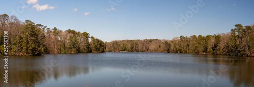 Obraz na plátně Newport News lake