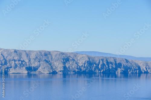 Aluminium Prints Glaciers Landscape view in Croatia
