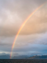 Rainbow Over Water, Alaska