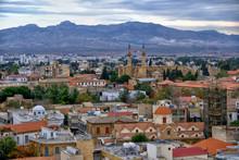 Panoramic View Of Nicosia, Cyp...