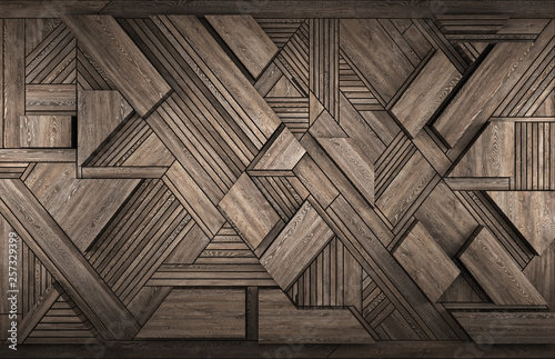 3D Interior decoration element for wall - 257329399