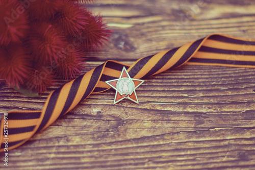 Valokuva  holiday symbol victory day may 9 St