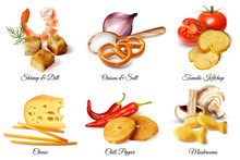 Crackers And Snacks With Flavoring Ingredients