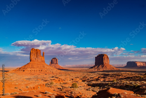 Wall Murals Orange Glow Monument Valley, Arizona. USA