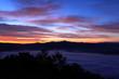 朝焼けの雲海