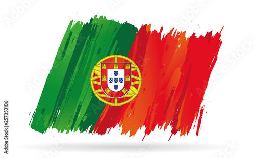 Fototapeta drapeau du Portugal obraz