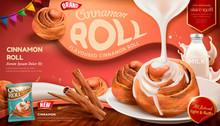 Cinnamon Roll Ads