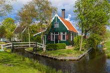 Village Zaanse Schans In Nethe...