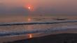 Sonnenaufgang über dem Golf von Thailand