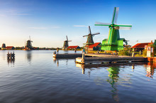 Netherlands Windmill, Zaanse S...