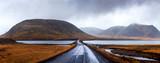 Icelandic road in Snaefellsnes peninsula of Iceland - 257390586