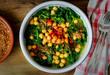 Espinacas con garbanzos - Spinach and chickpea stew