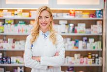 Portrait Of A Smiling Pharmaci...