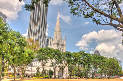 Canvas Prints Kuala Lumpur Singapore city center, landmarks