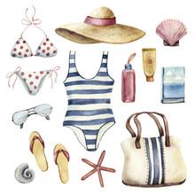 Summer Apparel For Beach Vacat...