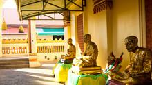 Burapha Phiram Temple In Thailand
