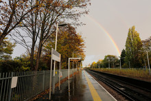 Suburban Railway Station, UK