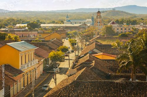 Fotomural Colonial town in Nicaragua Granada