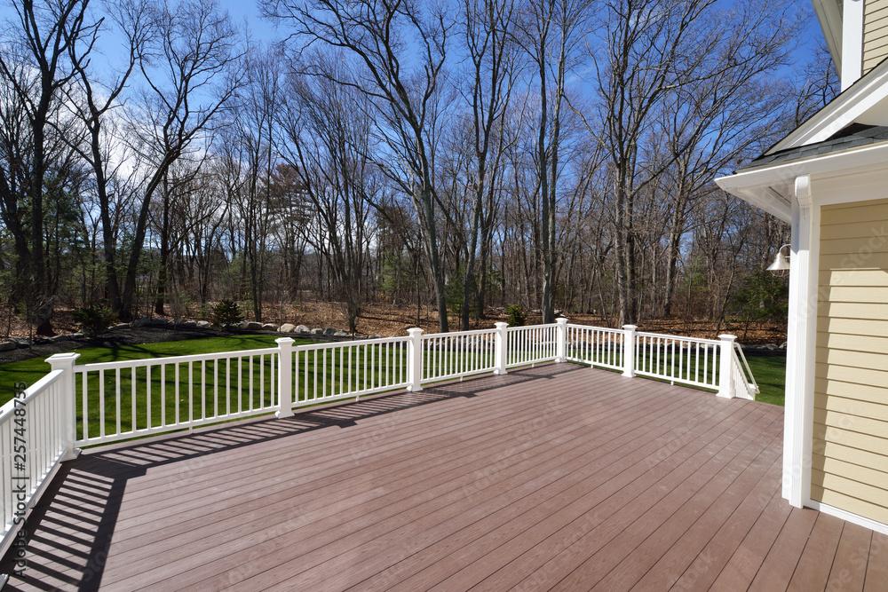 Fototapety, obrazy: New Backyard Deck