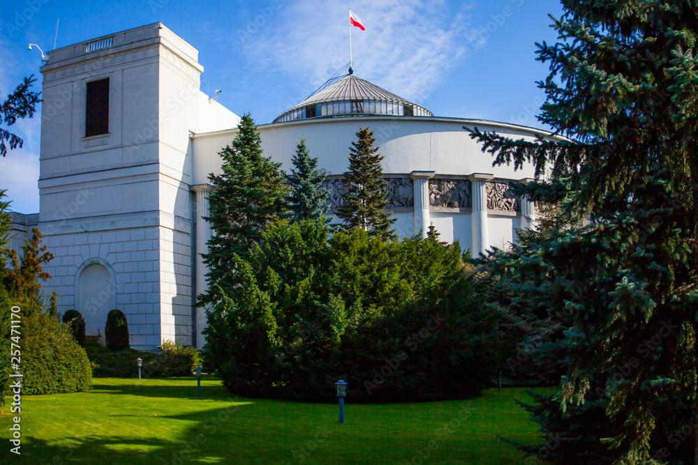 Fototapety, obrazy: Polish Sejm