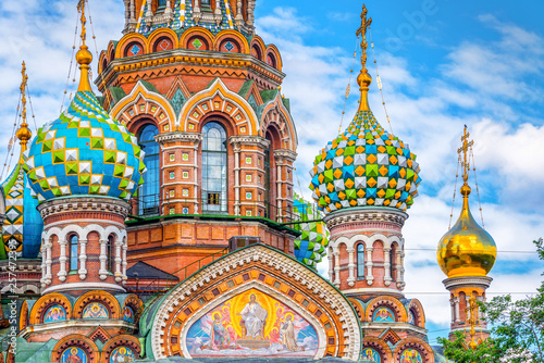 Fototapeta Church of the Savior on Spilled Blood, St Petersburg Russia