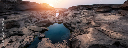 Fotografie, Obraz  Panorama Canyon view during sunset or sunrise